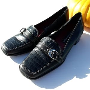 Etienne Aigner | Black Leather Loafers size 7.5